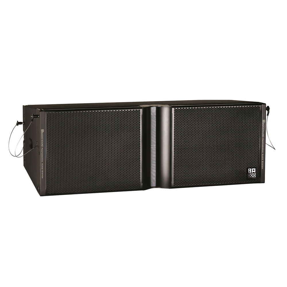 Badoo Sound LS212 dual 12inch two way line array speakers